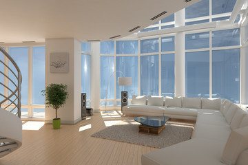 3D - Luxus Apartment (I)