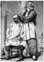 Traditional Arabian Barber