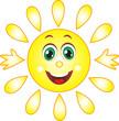 Векторное солнце