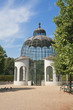 Pavilion in the park of Schonbrunn Palace. Vienna, Austria