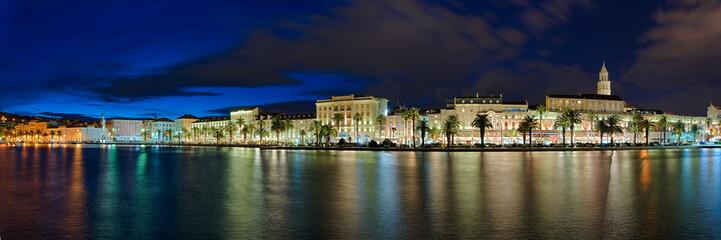 Split Kroatien Hafen Panorama