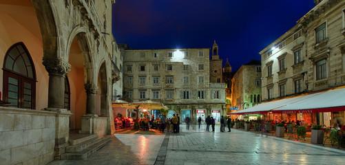 Split Kroatien Platz Narodni Panorama