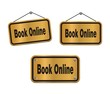 book online - bronze signs