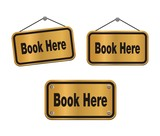 book here - bronze signs