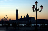 morning dawn in Venice