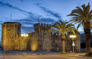 Trogir Kroatien  Festung Kamerlengo aus dem 15. Jahrhundert