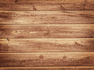 Old Wood Background - Vintage with yellow and brown colors