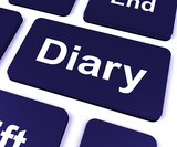Diary Key Shows Online Planner Or Schedule