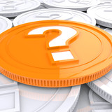 Question Mark Coin Shows Speculation About Finances