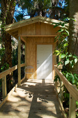 modern outhouse exterior