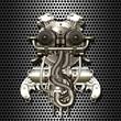 Zweizylinder-Cyborg