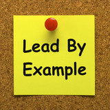 Lead By Example Note Means Mentor And Inspire