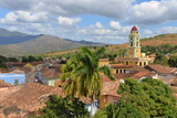 View over Trinidad in Cuba