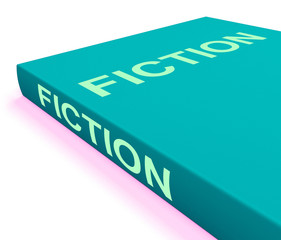 Fiction Book Shows Books With Imaginary Stories