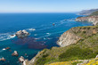 Pacific coastline in California  - Highway one