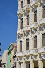 Colonial buildings in Havana, Cuba