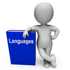 Languages Book And Character Shows Books About Language