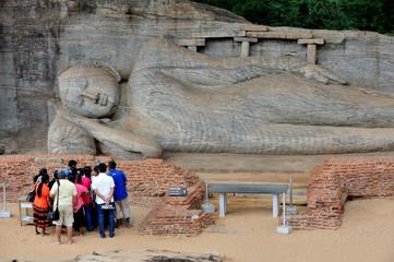 Sri Lanka - Buddha a Gal Viharaya, Polonnaruwa