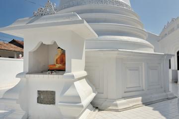 Sri Lanka -  tempio buddhista a Galle
