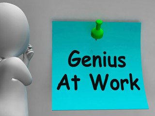 Genius At Work Means Do Not Disturb