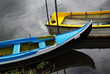 Blue an Yellow Boats