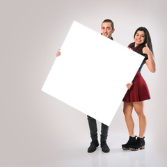 Couple With Board
