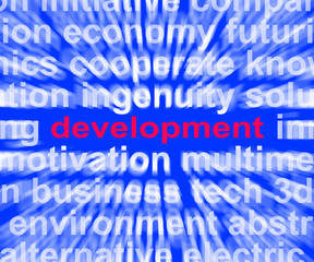 Development Word Means Evolution Growth And Improvement
