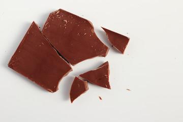 割れた板チョコ