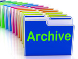 Archive Folders Show Documents Data And Backup