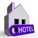 Hotel House Means Holiday Accommodation And Vacant Rooms