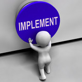 Implement Button Means Do Apply Or Execution poster