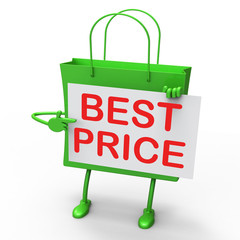 Best Price Bag Represents Bargains and Discounts
