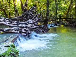 waterfall Krabi Thailand sea