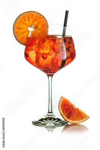 Orange party - Stock Image