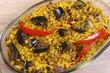 Eggplant Biryani – An Indian food made of rice and eggplant