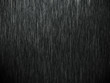 canvas print picture - Rain on black. Abstract background
