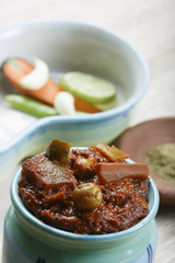 Mixed Vegetable Pickle -An Indian Pickle made of Mixed Vegetable