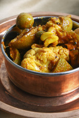 Pachranga Achar - A mixed vegetable pickle