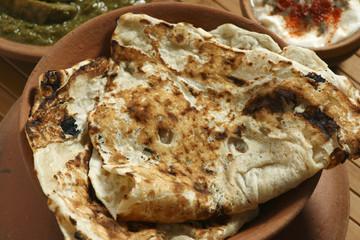 Tandoori Roti is Indian unleavened bread
