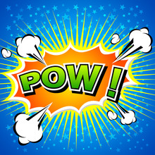 Pow! - Bulle Comic, Cartoon