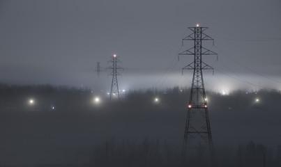 Power flowing through the fog
