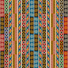Colorful ethno design