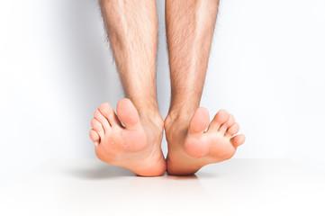 人間の裸足