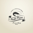 Vintage Pacific Prawn badge - 61495673