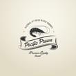 Vintage Pacific Prawn badge - 61495673