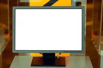 Blank monitor screen