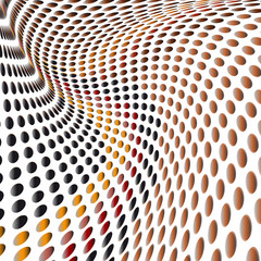 Background abstract pattern  dots
