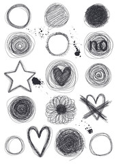 Hand-Drawn Circles