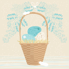 Tall Easter Basket