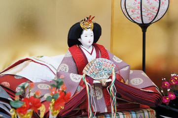 おひな様 斜め全身 Japanese doll